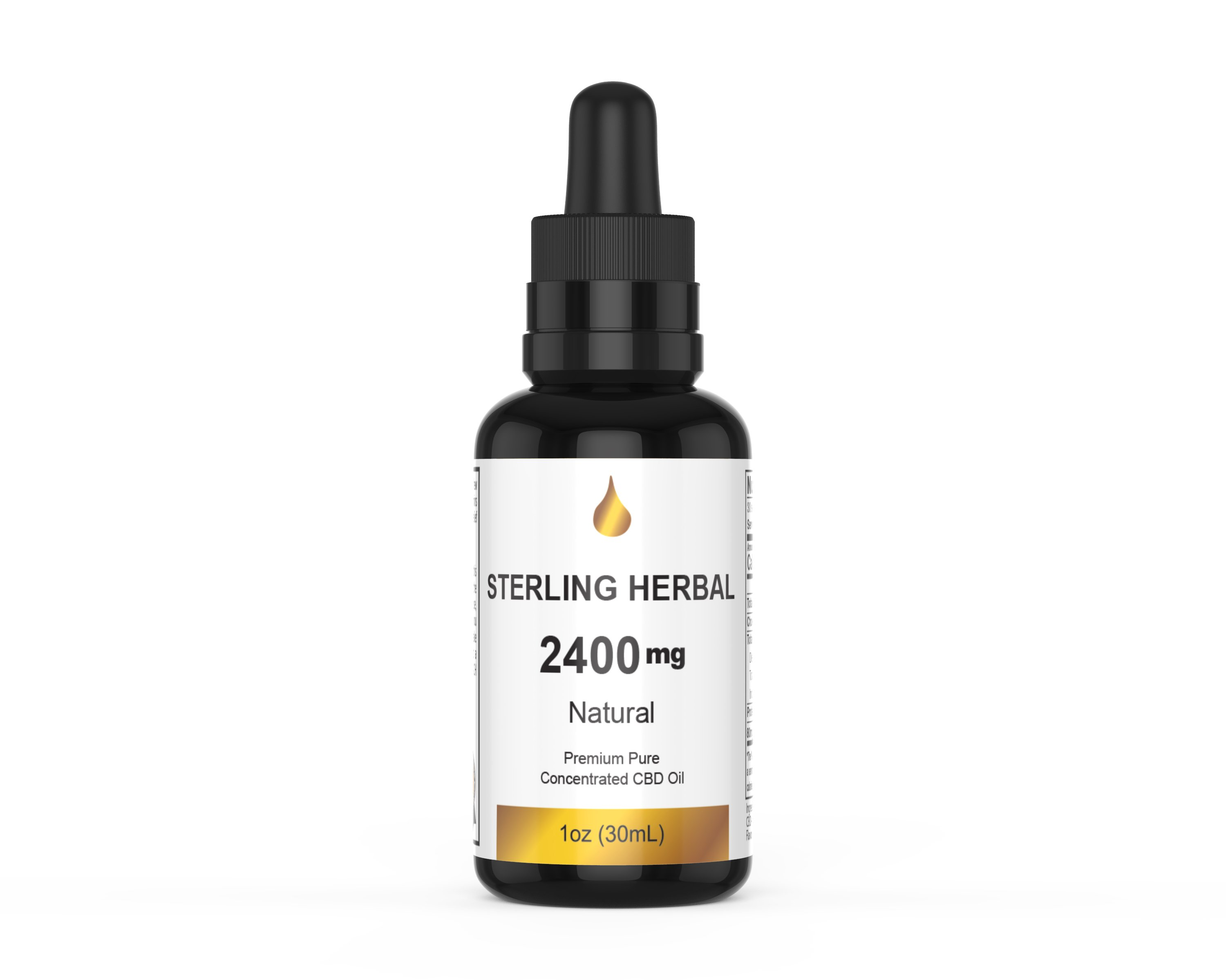 Sterling Herbal CBD OIL 2400MG