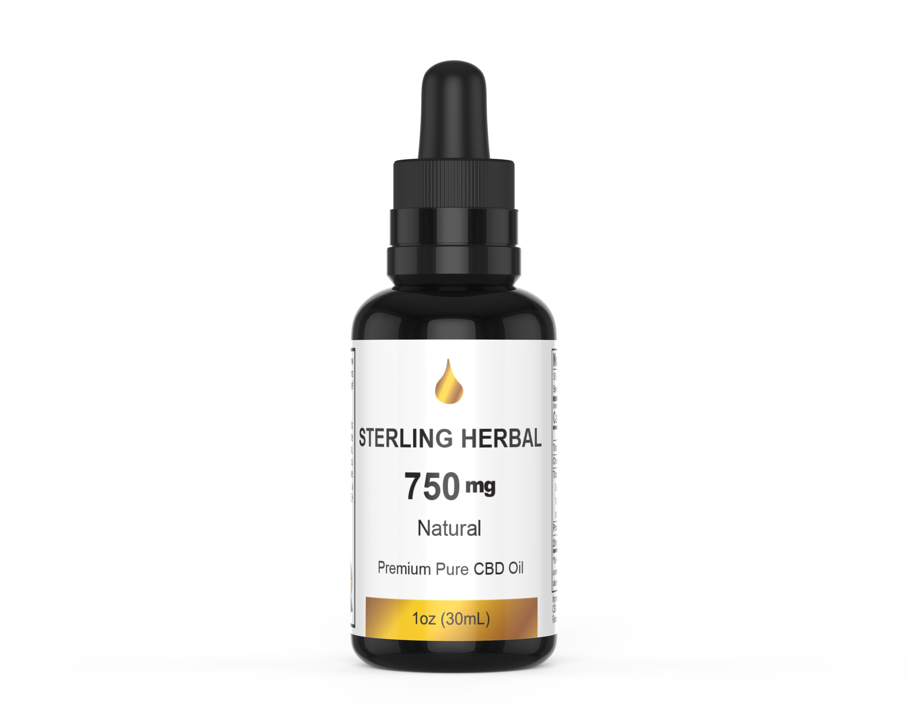 Sterling Herbal CBD OIL 750MG