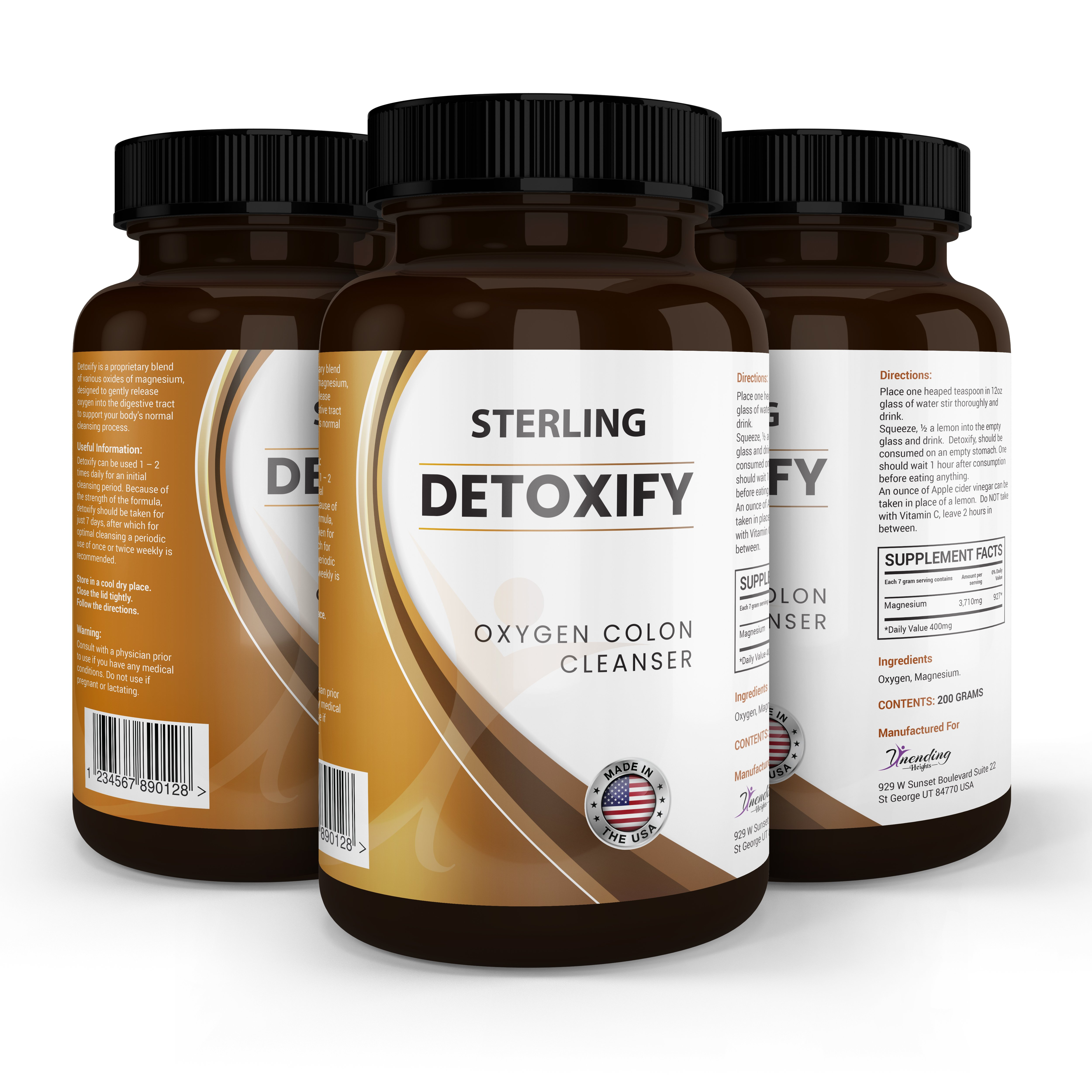 Sterling Detoxify - COLON CLEANSE