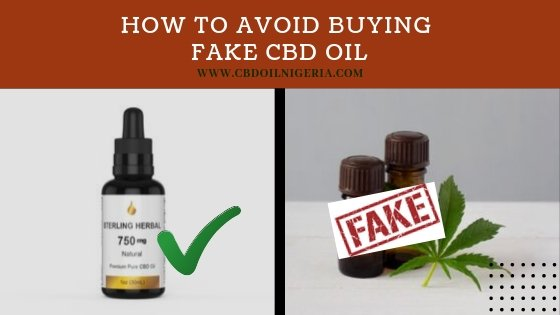 How To Avoid Buying Fake CBD Oil