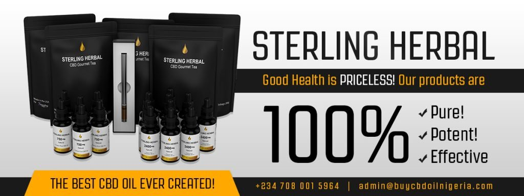 Sterling Herbal CBD OIL The Purest CBD in nigeria
