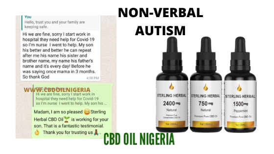 cbd oil for non verbal autism