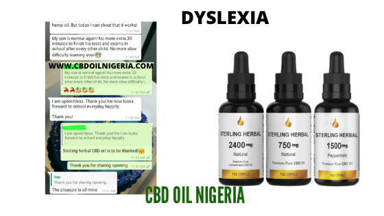 cbd oil for Dyslexia